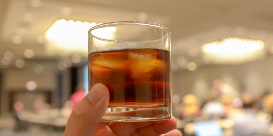 Der Whisky der Marke Chivas eignet sich besonders gut, um sich mal etwas Feines zu genehmigen