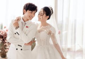 Chinesisches Hochzeitspaar